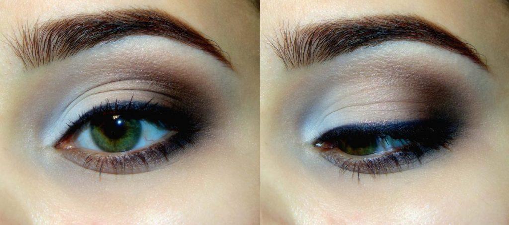 классический макияж глаз