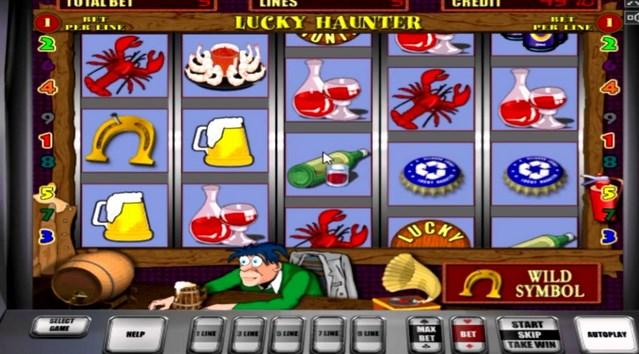 Выбор года – игровой аппарат Lucky Haunter!